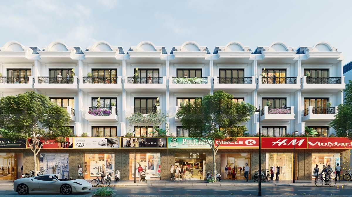 shophouse galaxy boulevard ba ria - GALAXY BOULEVARD