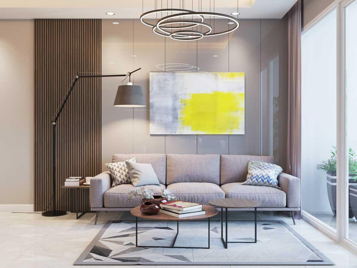 sofa phong khach Can ho Parkview Apartment - PARKVIEW APARTMENT BÌNH DƯƠNG