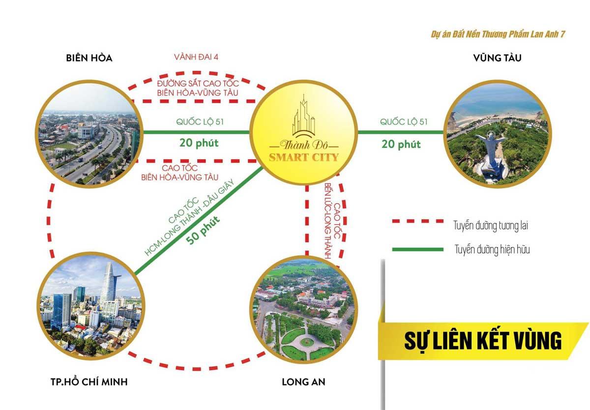 tiện ích liên kết vùng Thành Đô Smart City - THÀNH ĐÔ SMART CITY