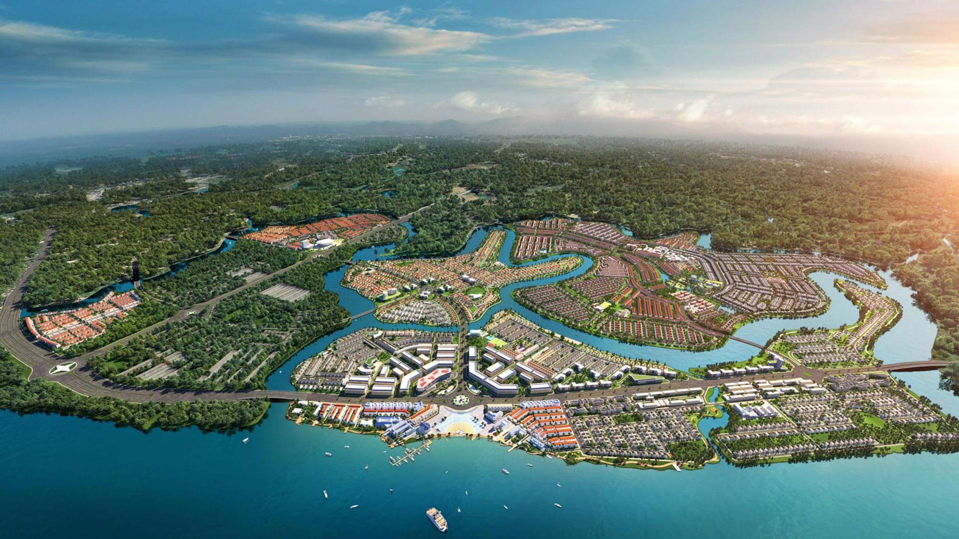 toan canh phan khu dao phuong hoang aqua city - ĐẢO PHƯỢNG HOÀNG PHOENIX ISLAND