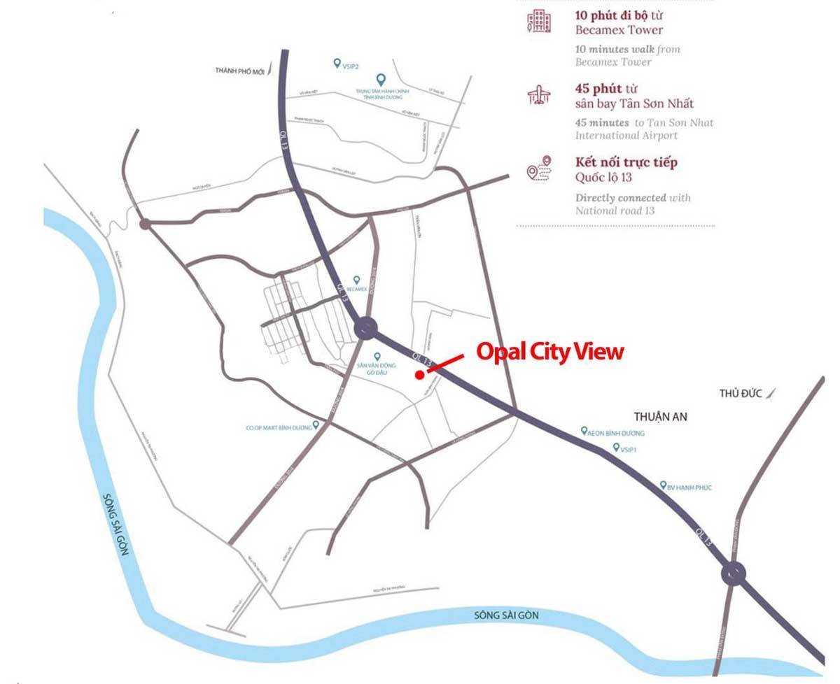 vi tri du an opal city view - OPAL CITYVIEW