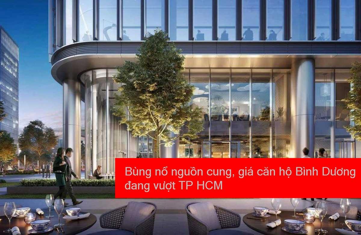 Bung no nguon cung gia can ho Binh Duong dang vuot TP HCM - Bùng nổ nguồn cung, giá căn hộ Bình Dương đang vượt TP HCM