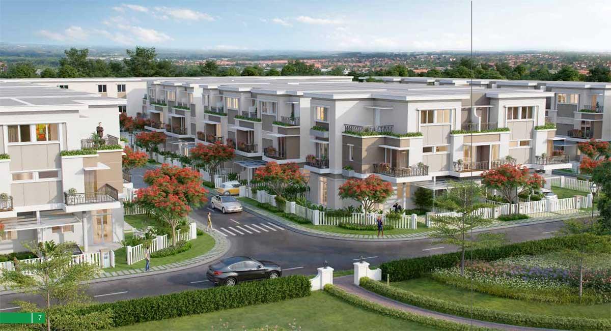 Phối cảnh Dự án Nhà phố Lovera Premier Bình Chánh