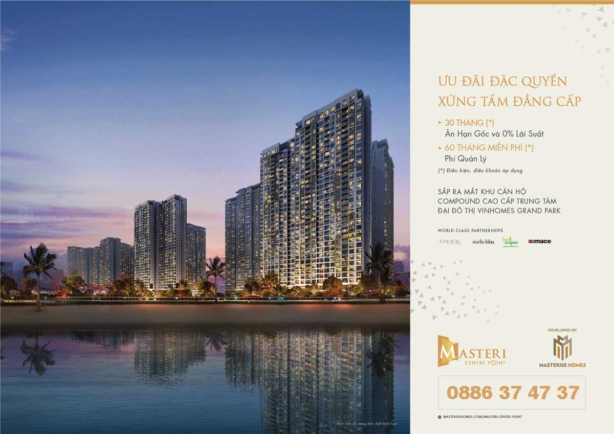 Masteri Centre Point Uu dai dac quyen xung tam dang cap - MASTERI CENTRE POINT QUẬN 9