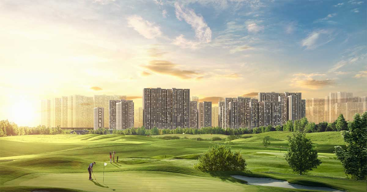 Masterise Centre Point view san golf tuyet dep - MASTERI CENTRE POINT QUẬN 9