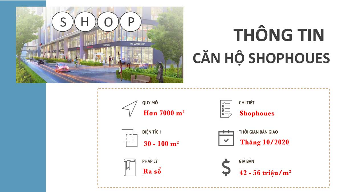 Tong quan Shophoues The Era Town - SHOPHOUSE THE ERA TOWN ĐỨC KHẢI QUẬN 7