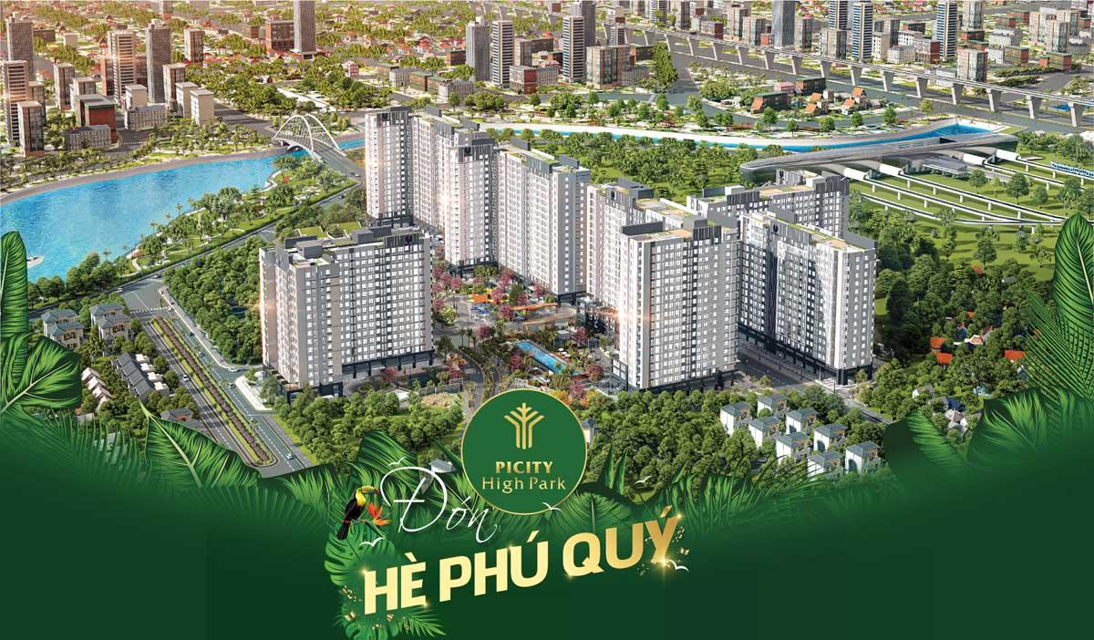 Chương trình Hè Phú Quý cùng Picity High Park