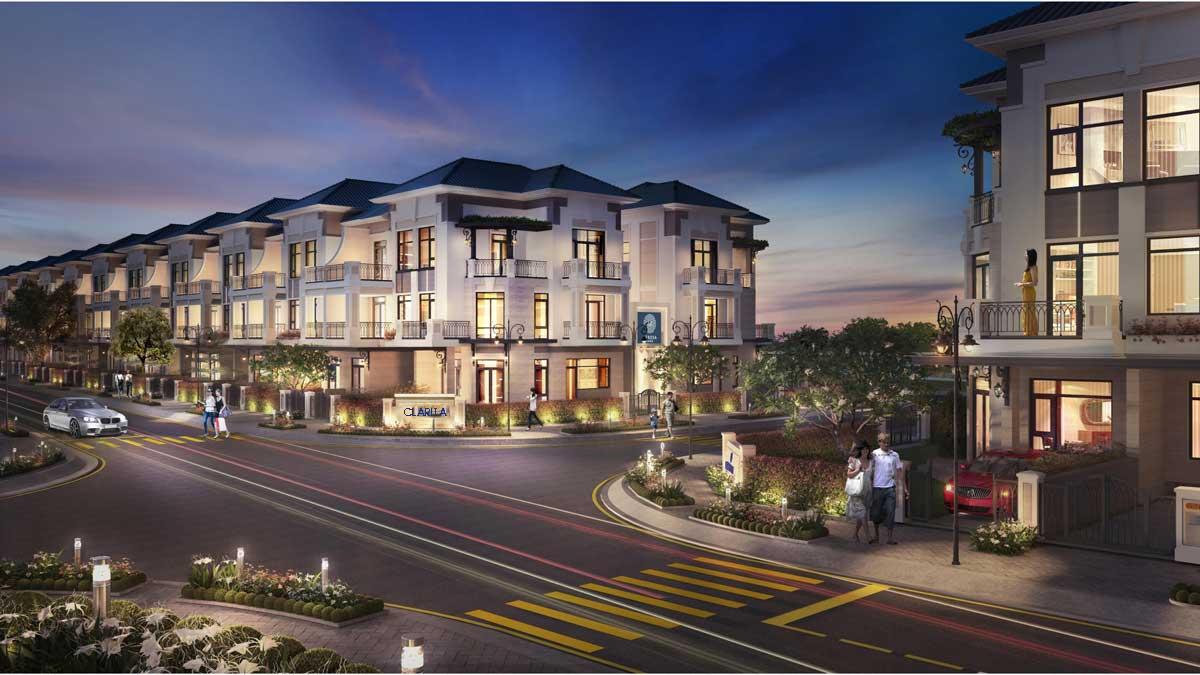 Phối cảnh Dự án Nhà phố - Biệt thự Nhà phố Clarita Khang Điền Quận 2