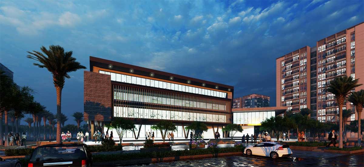 khu trung tam van hoa the new city chau doc - THE NEW CITY CHÂU ĐỐC