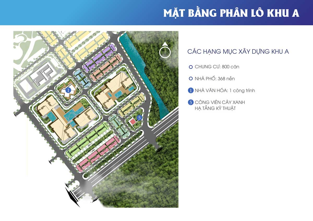 mat bang phan khu A The new city chau doc - THE NEW CITY CHÂU ĐỐC