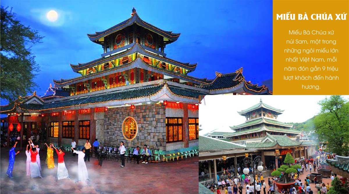 mieu ba chua xu - THE NEW CITY CHÂU ĐỐC