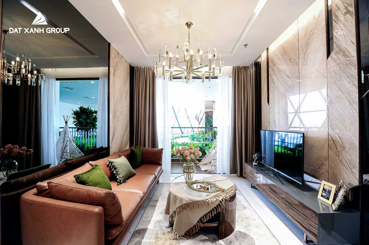 sofa phong khach can ho opal skyline 1 - OPAL SKYLINE THUẬN AN BÌNH DƯƠNG