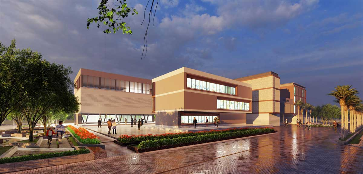 truong trung hoc co so tai khu d du an the new city chau doc - THE NEW CITY CHÂU ĐỐC
