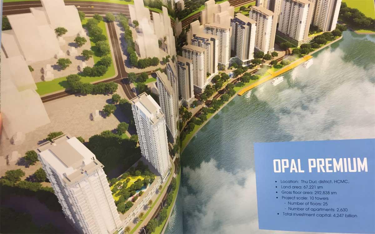 Phối cảnh Dự án Căn hộ Opal Premium Thủ Đức