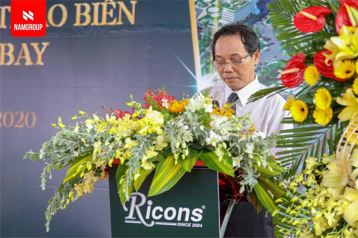 Ong Nguyen Duc Hoa Pho Chu tich UBND tinh Binh Thuan phat bieu tai buoi le - DỰ ÁN THANH LONG BAY PHAN THIẾT BÌNH THUẬN