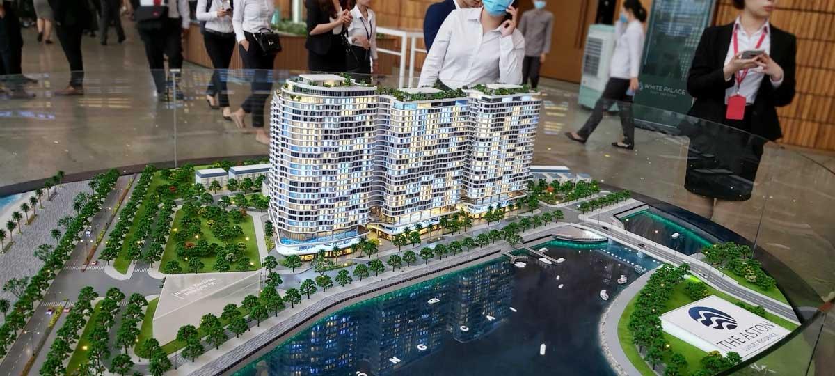 Sa ban Can ho The Aston Luxury Residence - Sa Bàn Dự án The Aston Luxury Residence Nha Trang