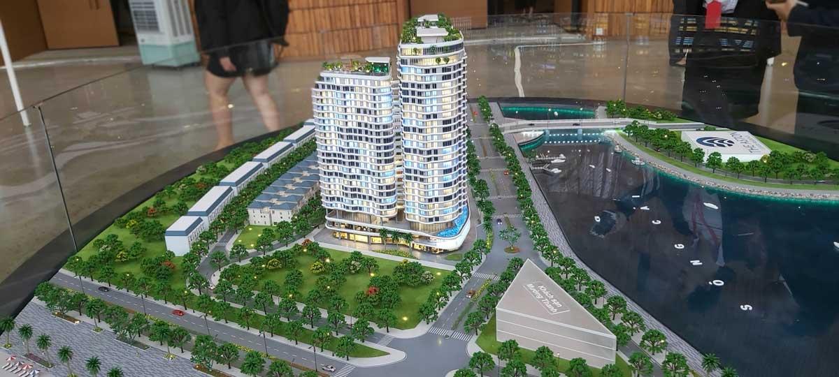 Sa ban Du an The Aston Luxury Residence - Sa Bàn Dự án The Aston Luxury Residence Nha Trang