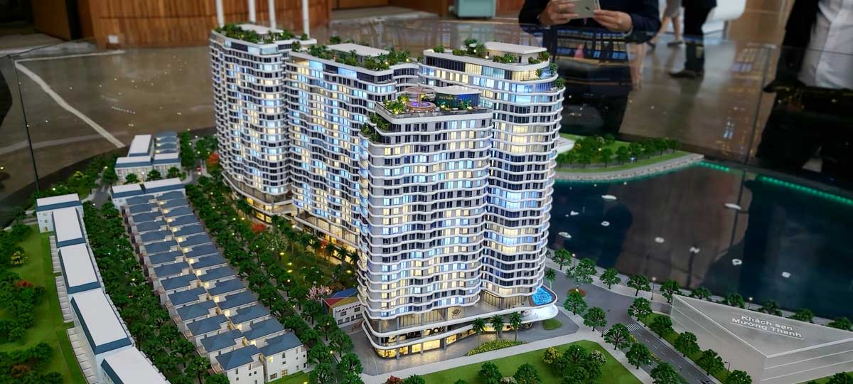 Sa ban The Aston Luxury Residence Nha Trang - Sa Bàn Dự án The Aston Luxury Residence Nha Trang