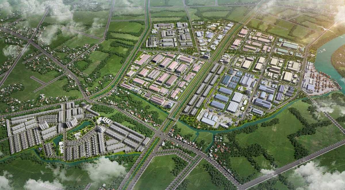 Dự án Khu công nghiệp Thương mại Dịch vụ Trần Anh Tân Phú