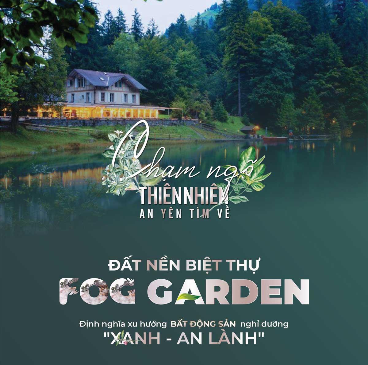 fog garden bao loc - CÁC DỰ ÁN ĐẤT NỀN BẢO LỘC ĐANG TRIỂN KHAI