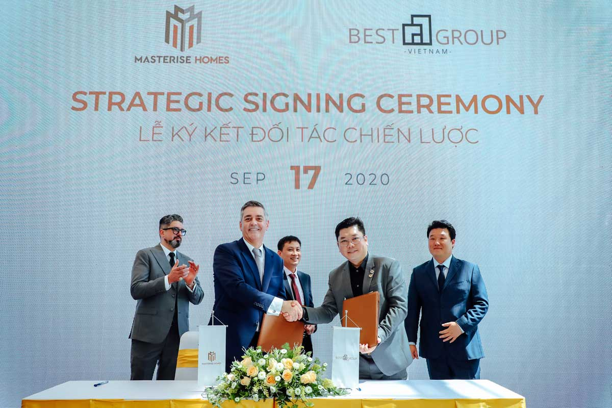 masterise homes ky hop tac voi best group - MASTERI CENTRE POINT QUẬN 9