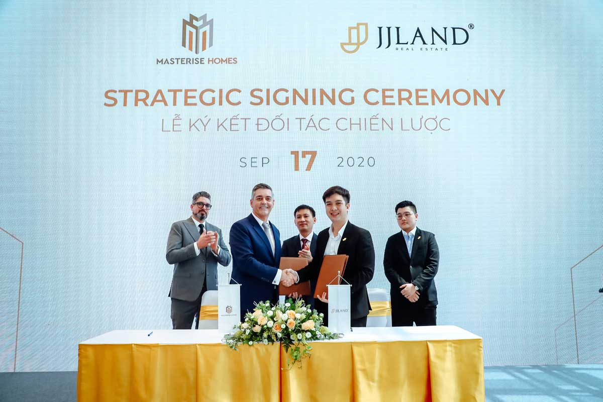 masterise homes ky hop tac voi jjland - MASTERI CENTRE POINT QUẬN 9
