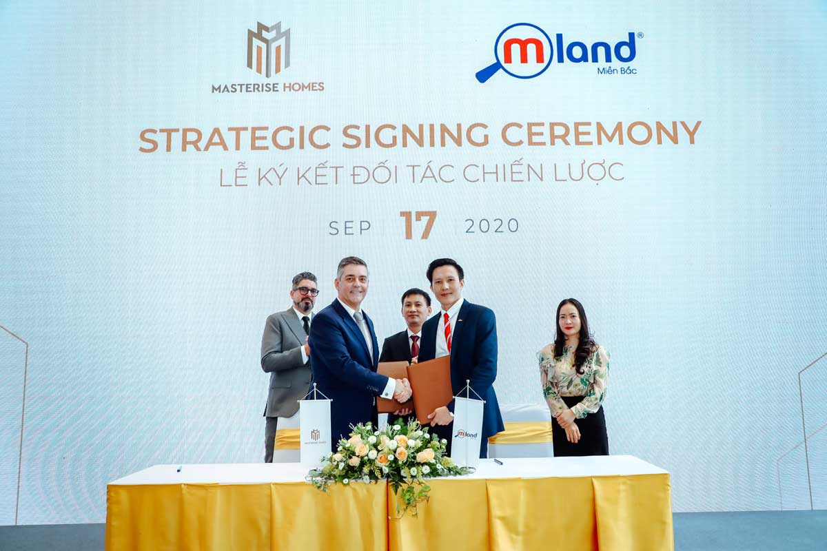 masterise homes ky hop tac voi mland - MASTERI CENTRE POINT QUẬN 9
