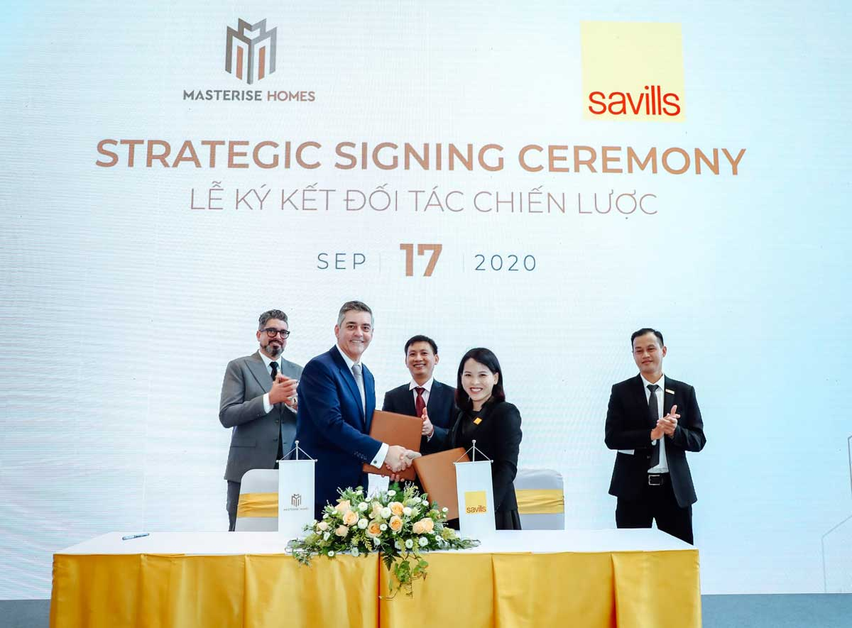 masterise homes ky hop tac voi savills - MASTERI CENTRE POINT QUẬN 9