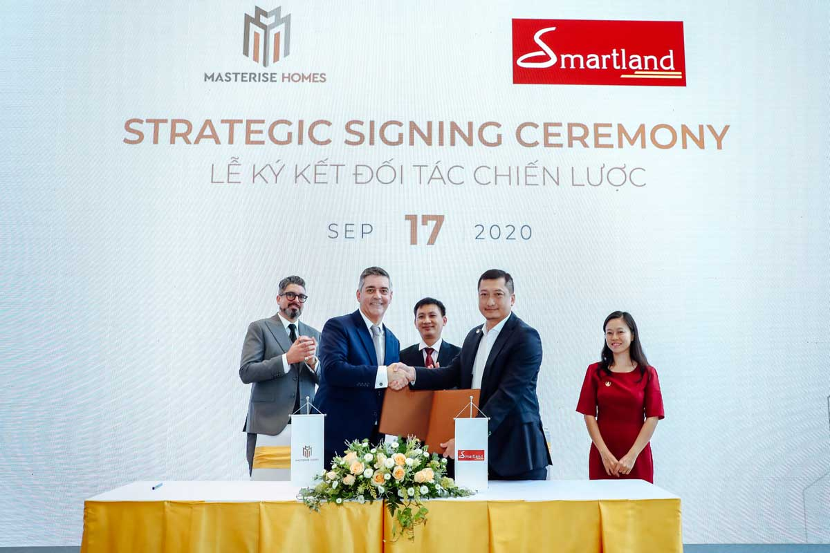 masterise homes ky hop tac voi smartland - MASTERI CENTRE POINT QUẬN 9