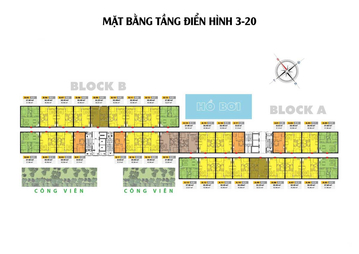 mat bang tang du an bcons city - BCONS CITY DĨ AN BÌNH DƯƠNG