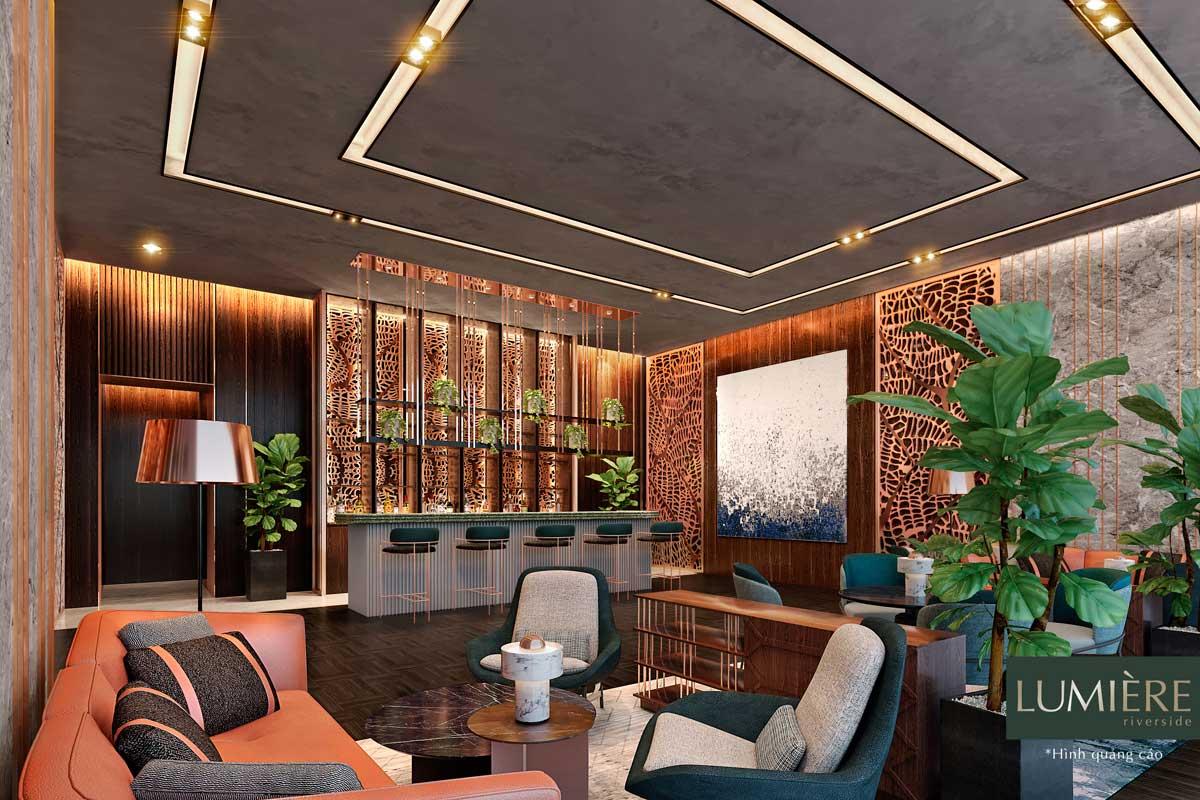 sanh Lobby Lounge lumiere riverside - MASTERI LUMIÈRE RIVERSIDE