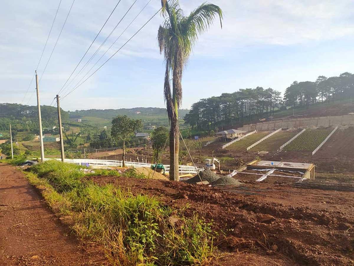 tien do thi cong du an KiWuKi Village - KIWUKI VILLAGES BẢO LỘC