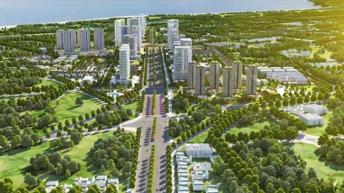 truc chinh du an dic solar city vung tau - DIC SOLAR CITY VŨNG TÀU