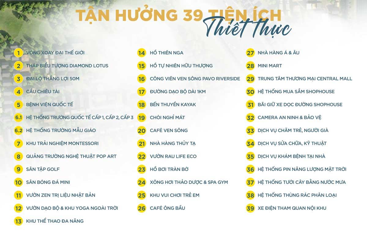 39 tien ich dang cap tai the sol city - The Sol City