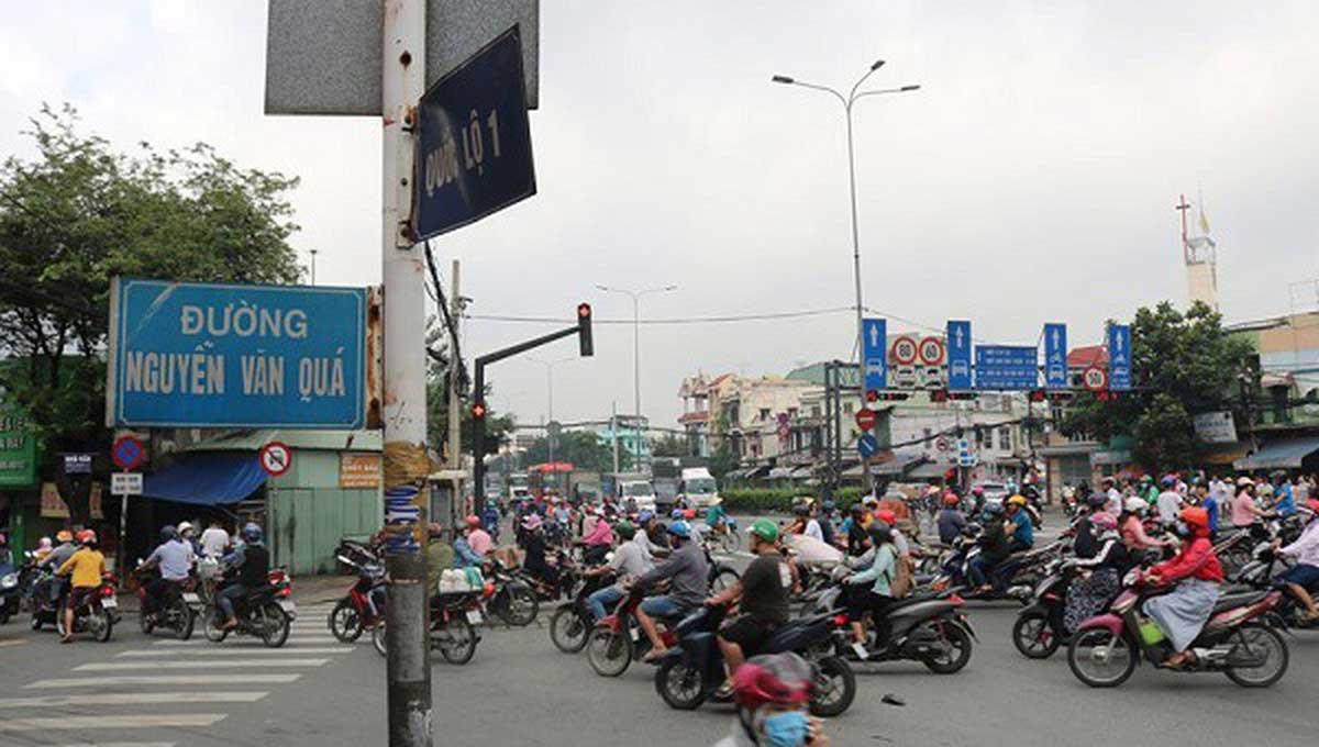 Cầu Vượt Ngã Tư Đình Quốc Lộ 1 – Nguyễn Văn Quá Quận 12