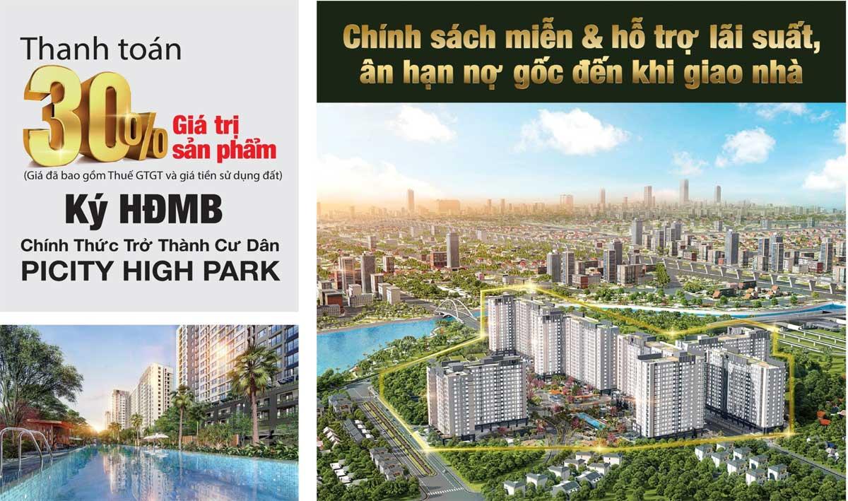 Chuong trinh ban hang Park 1 Picity High Park Limited Edition - MỞ BÁN PARK 1 PICITY HIGH PARK LIMITED EDITION