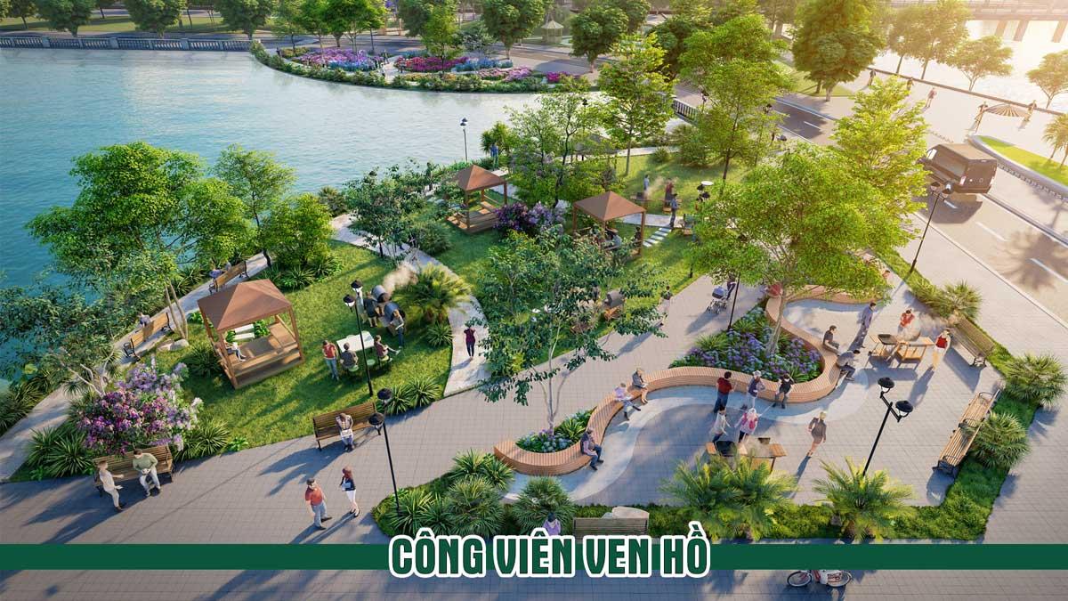 Cong vien ven ho Thanh Son Riverside Garden - Thanh Sơn Riverside Garden