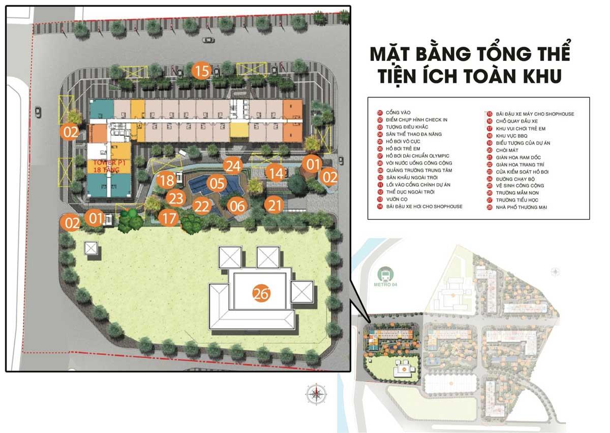 Mat bang tong the Park 1 Picity High Park Limited Edition - MỞ BÁN PARK 1 PICITY HIGH PARK LIMITED EDITION