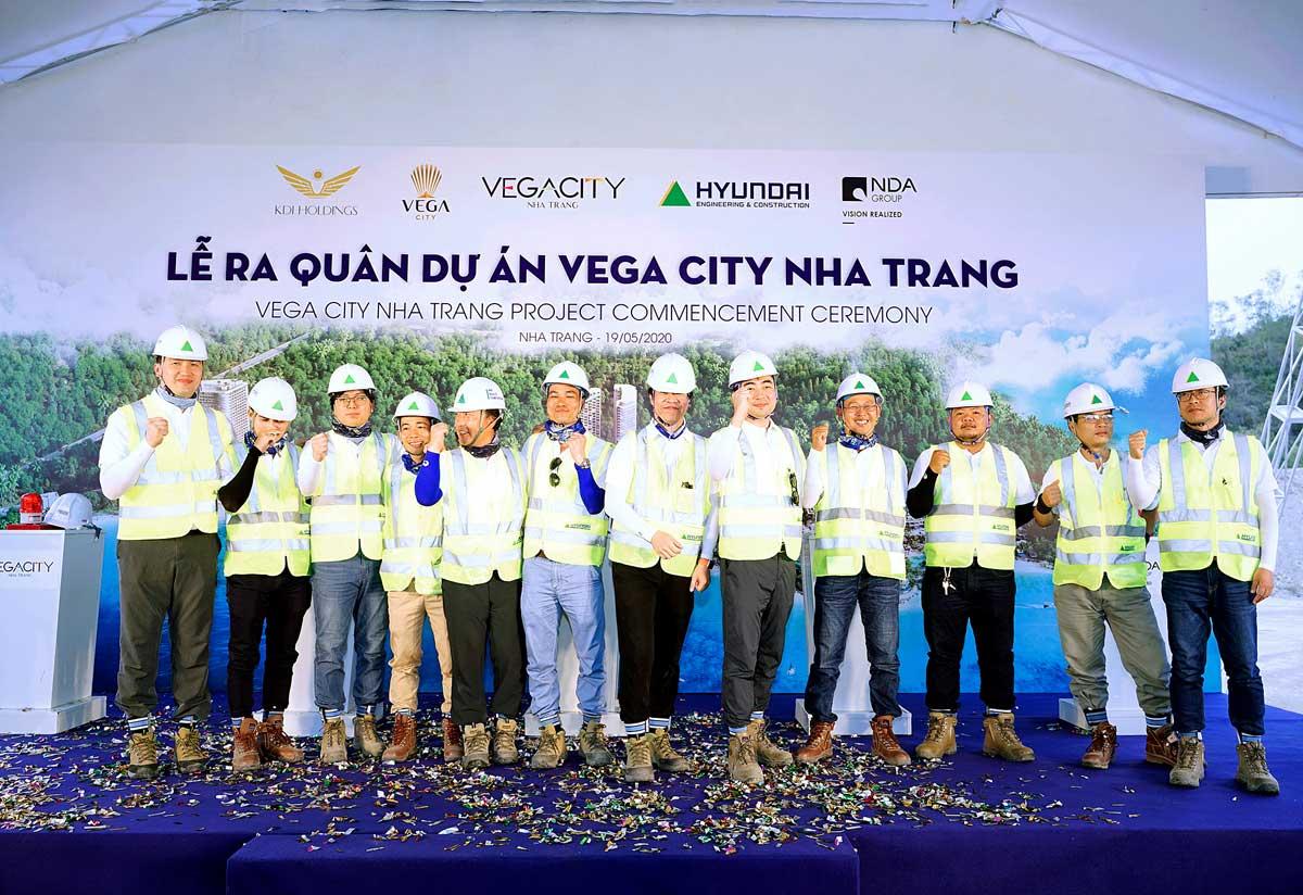 Tap doan KDI Holdings va Cong ty co phan Vega City da to chuc Le Ra Quan du an Vega City Nha Trang tai Bai Tien Duong De Phuong Vinh Hoa TP Nha Trang Tinh Khanh Hoa - Vega City Nha Trang