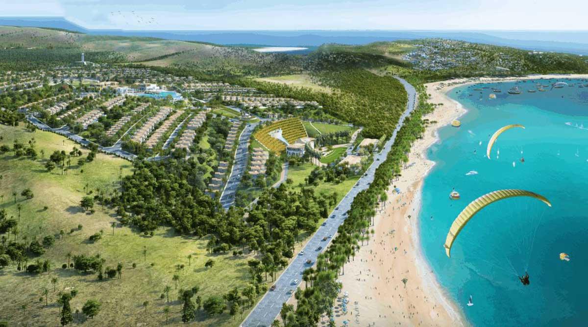 Vi tri Du an Biet thu Palm Beach Vung Tau - PALM BEACH VŨNG TÀU