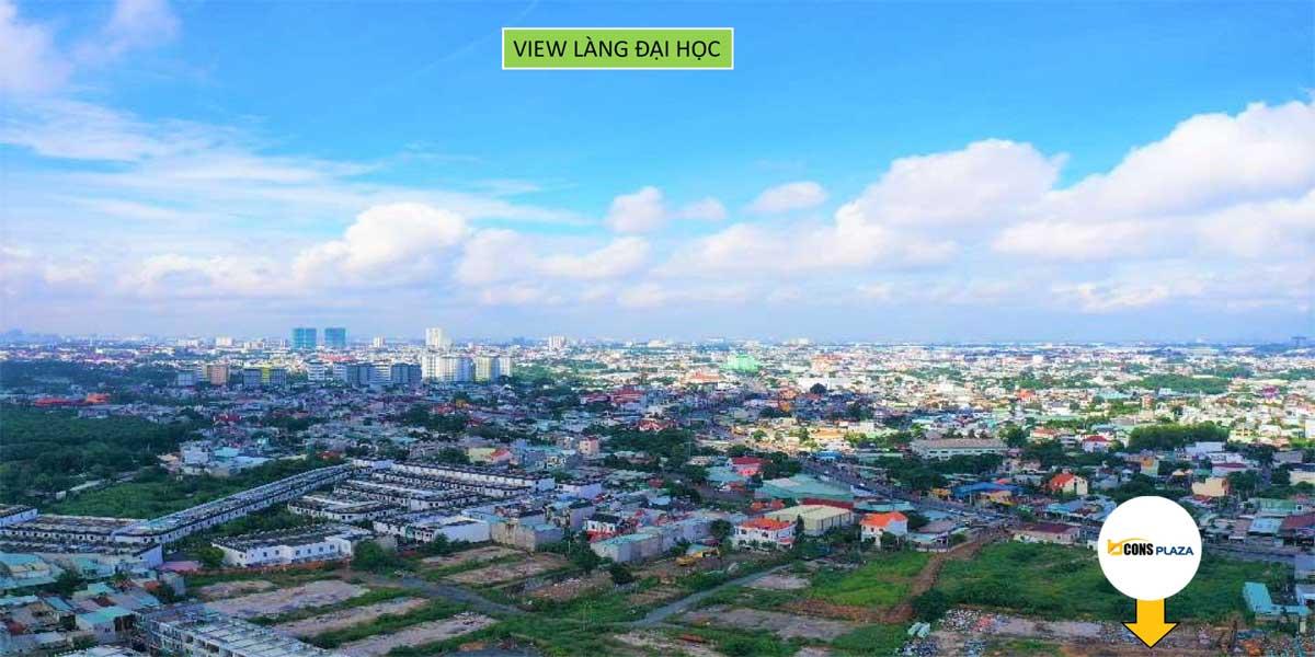 bcons plaza view lang dai hoc - BCONS PLAZA