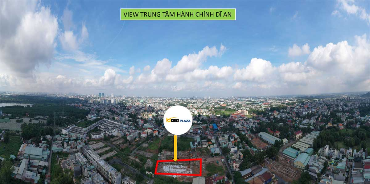 bcons plaza view trung tam hanh chinh di an - BCONS PLAZA