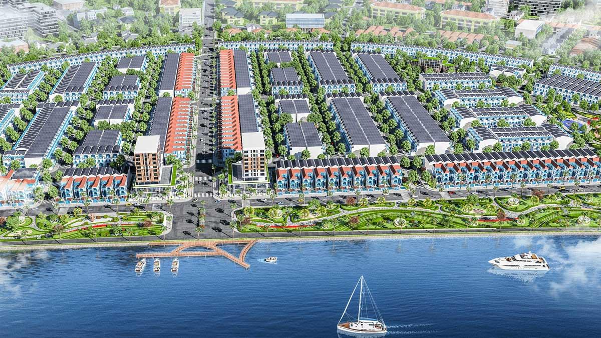 ben du thuyen tai Thanh pho Xanh Mallorca River City Ven Song Co Co Quang Nam - MALLORCA RIVER CITY