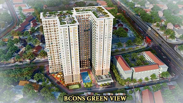 can ho bcons green view binh duong - BCONS PLAZA