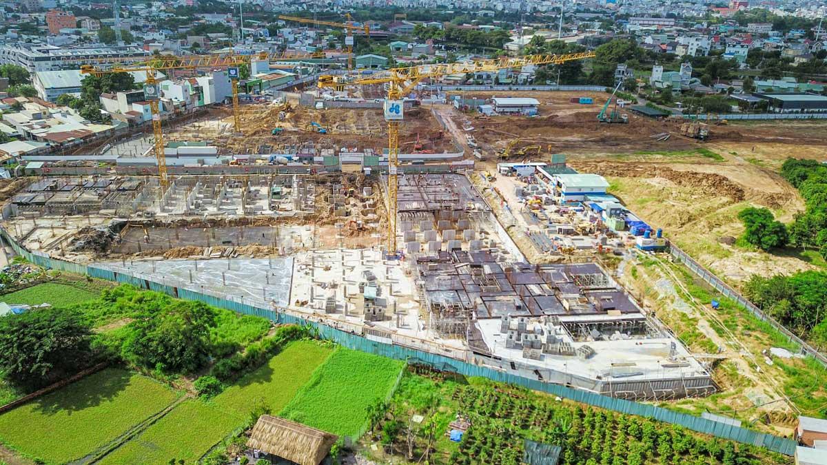 cap nhat tien do thi cong khu can ho picity high park ngay 04 thang 10 nam 2020 - PICITY HIGH PARK