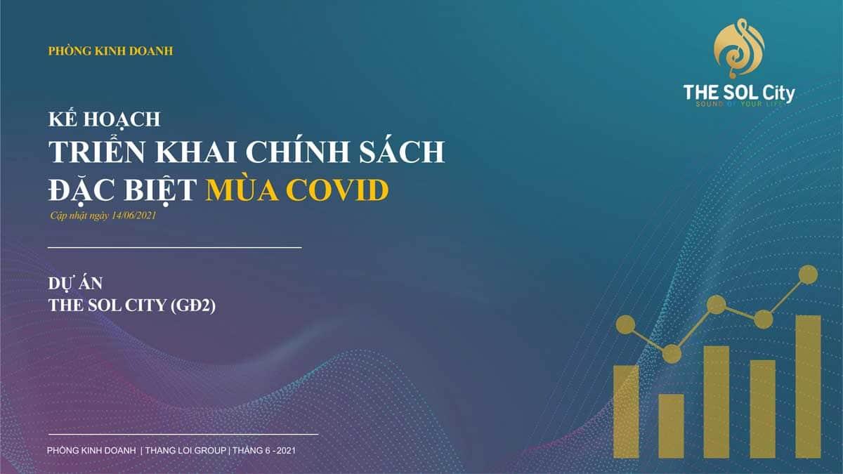 chinh sach dac biet danh cho khach hang mua covid - The Sol City