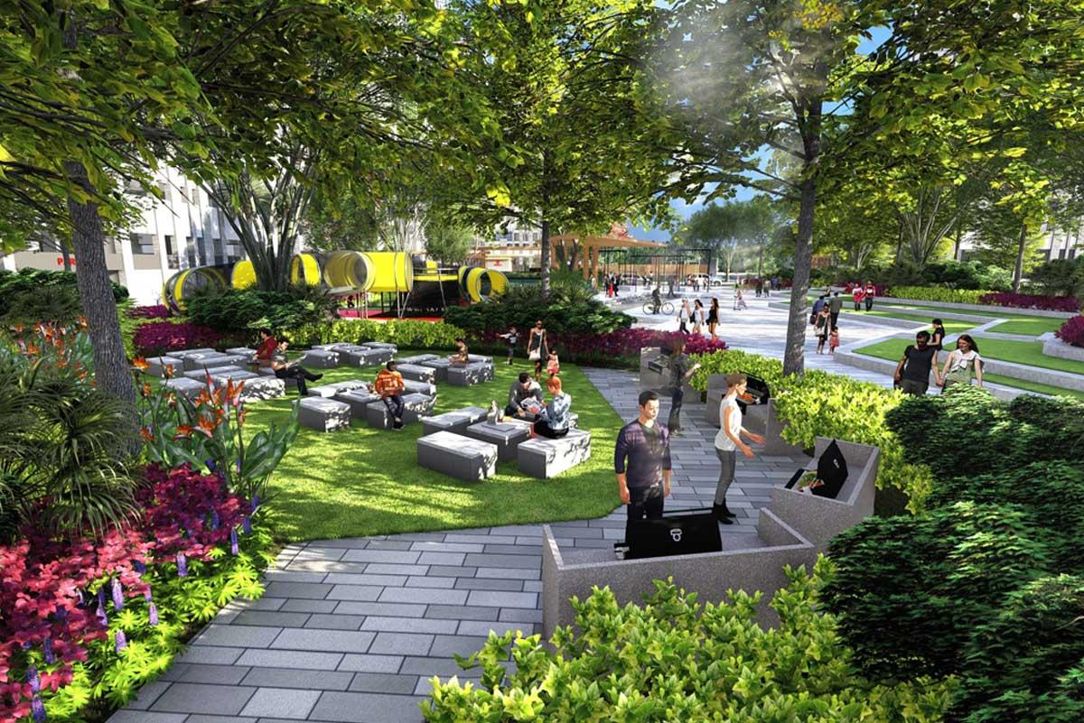cong vien du an picity high park q12 2020 - PICITY HIGH PARK QUẬN 12