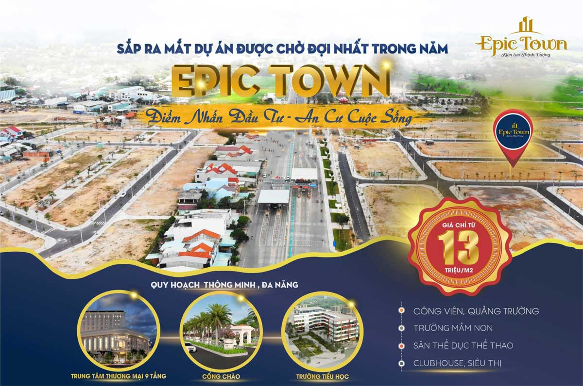 gia ban du an epic town dien thang - EPIC TOWN ĐIỆN THẮNG