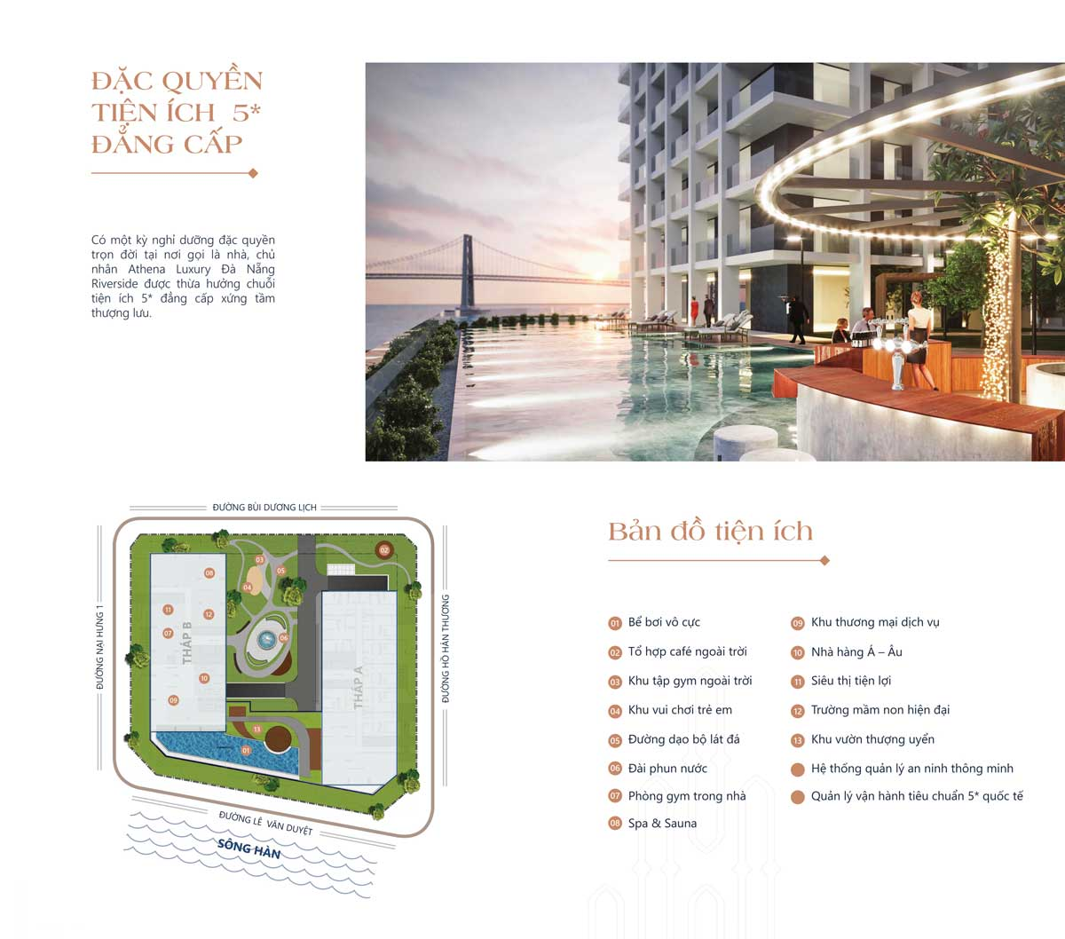 he thong tien ich noi khu tai du an athena luxury da nang riverside - Athena Luxury Đà Nẵng Riverside