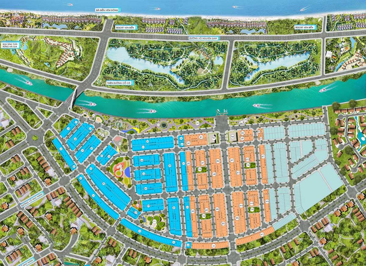 mat bang phan lo du an mallorca river city - MALLORCA RIVER CITY